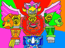 Legend Beast Sentai Chimanger 6 by conlimic000