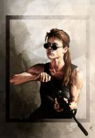 Sarah Connor by Nyu-Lilu