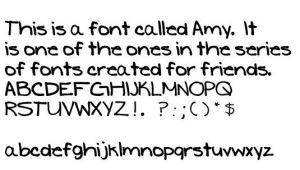 Ashley Font by darnfancylettuce