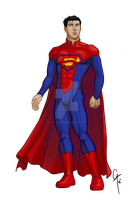 Superman Design by daChaosKitty