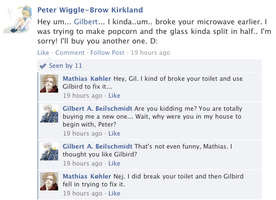 Hetalia Facebook: Broken Microwaves by gilxoz-epicness