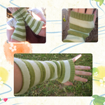 Key Lime Pie Arm Warmers by Jade-Xe