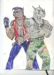 Bebop and Rocksteady by theaven