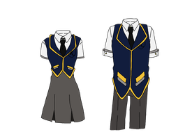 RAVENCLAW UNIFORM UPDATED by yinyangswings