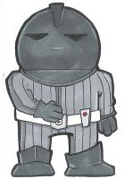 L is for Lynx the Sontaran by crpechonick