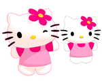 MMD Hello Kitty Model Download by Aira-Melody