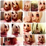 Female titan makeup trial 4 by timii95