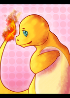 DevCon Collab. Necklace Prints: 1/5 - Charmander by Dekkii