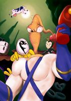 Earthworm Jim by IronYaya