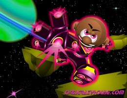 Cosmic Chris 2 by chriscrazyhouse