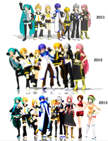 Two Years, 3 Months, and 13 Days Later. by Crystallyna
