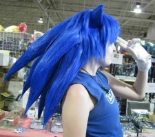 Sonic wig by TheWestWind