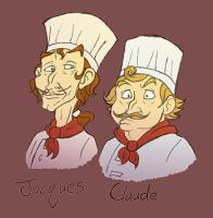Jacques et Claude by Synicalsel