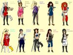 The NG Girls Of Konoha by SuperNaruSakuFanatic