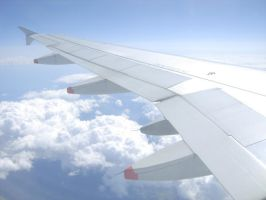 AirPlane Wing by MysticNeonGLow