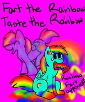 New Rainbow Fart Skittles! by iW-O-L-F