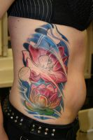 lotus ribs by tattooneos