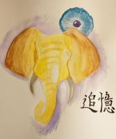 An Elephant Never Forgets by Xylidyti