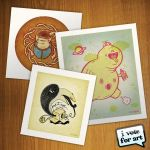I vote For Art Prints by himnofeda