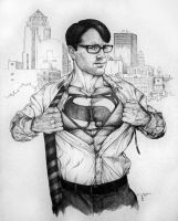 Midwest Superman by Meador