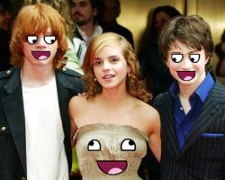 Harry Potter n Pals... Awesome by boomheadshot135