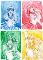 aceo inner sailor senshi by artflower