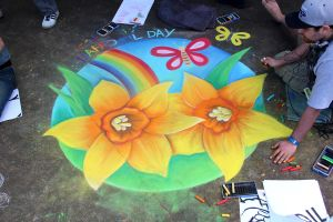 Animation College NZ - Chalk Art at the Zoo 4! by AnimationCollegeNZ
