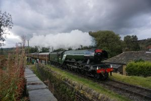 The Flying Scotsman by dcg12b