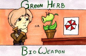 Green Herb? by LastRyghtz