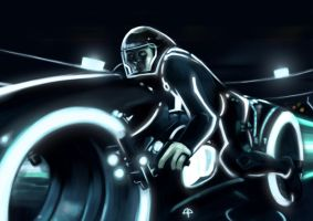 Tron by placitte2012