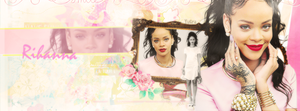 Rihanna Facebook Cover by sarekubra