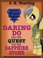 Daring Do Book Cover by Oceanblue-Art