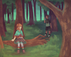 Forest Girls by ForeverSoaring