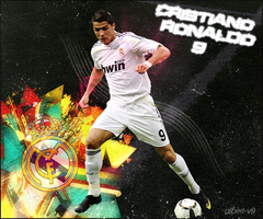 Cristiano Ronaldo Wallpaper by albert-V9
