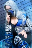 Female Sub-Zero by cosplaylala