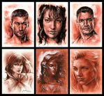 Sketch Cards - batch 01 by jbcasacop