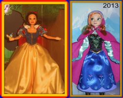 76 Years of Princesses by dcfan0590