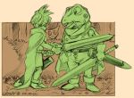 ChronoTrigger: Frog and Tata by Crispy-Gypsy
