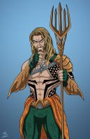 Aquaman (Earth-27) commission by phil-cho