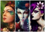 Goddesses of the Nature - Wallpaper by sanguisGelidus