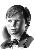 Young Bruce Wayne by donchild