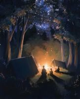 Camping trip by e-will