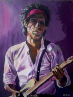 Keith Richards 'SOLD' by soljwf98