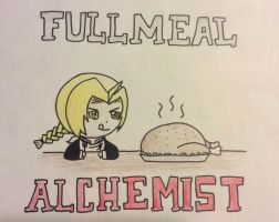 The Fullmeal Alchemist by CrescendoFlight