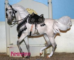 Egyptian dancing horse model by tolthorse