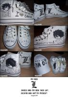 Death Note ll my L shoes by Reegeta