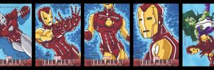 Iron Man 3 16-20 by dino-damage