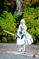 Saber lily by fabiohazard