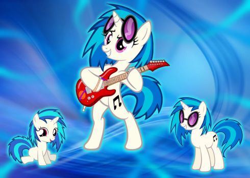 Vinyl Scratch Wallpaper by YuiRainbowStar