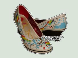 Happy Shoes by MartaValentin